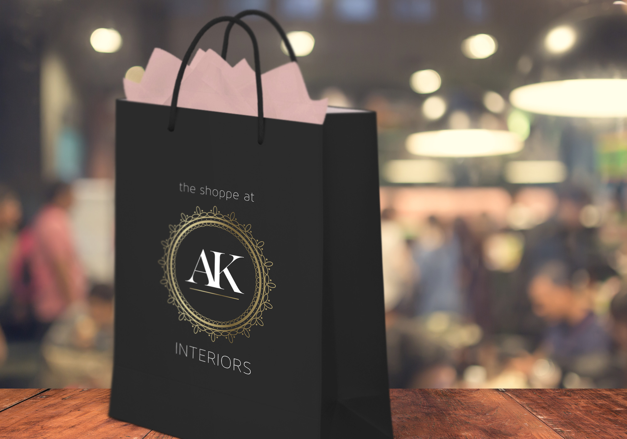 AK Interiors - Shopping Bag Design