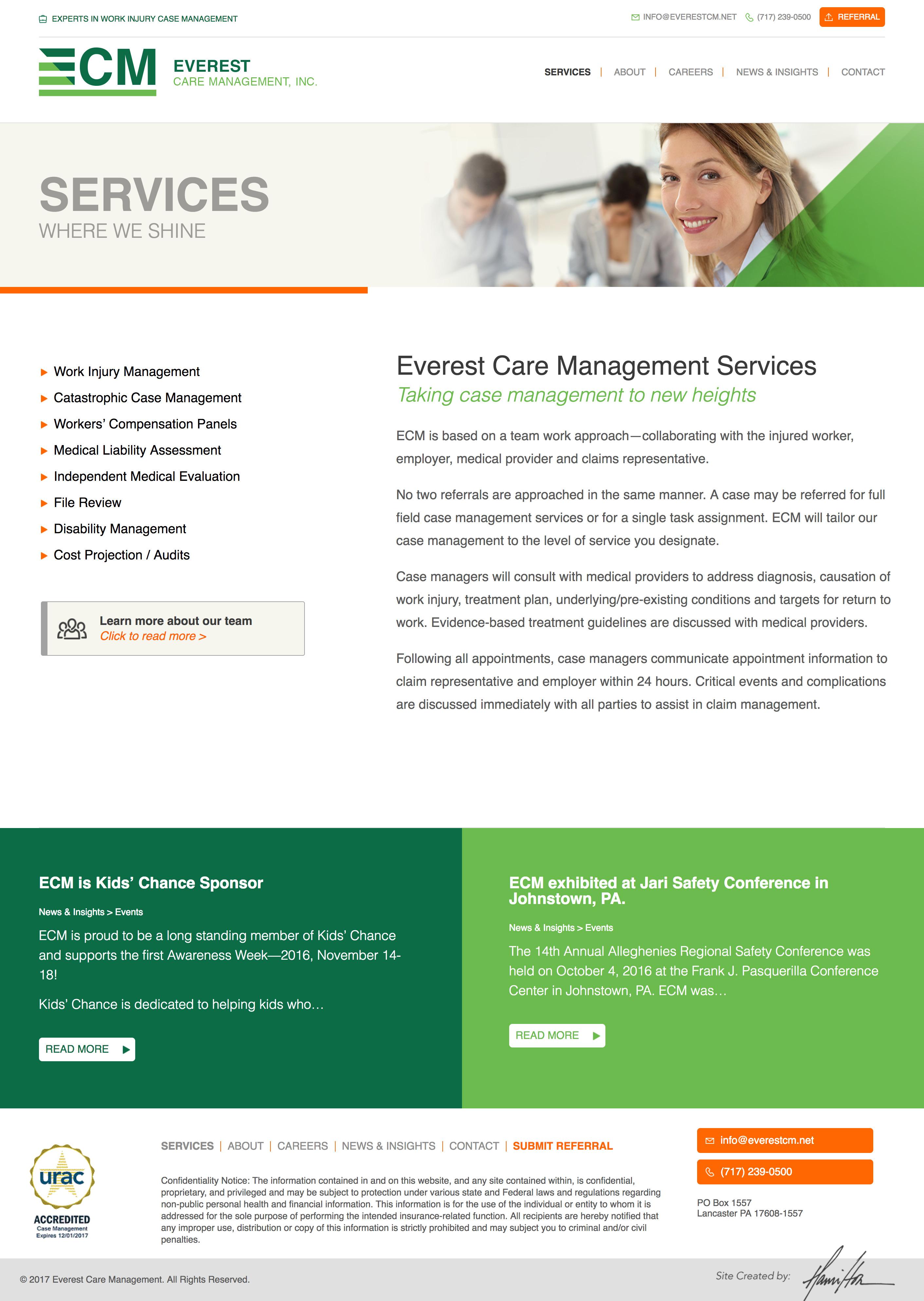 ECM - Services