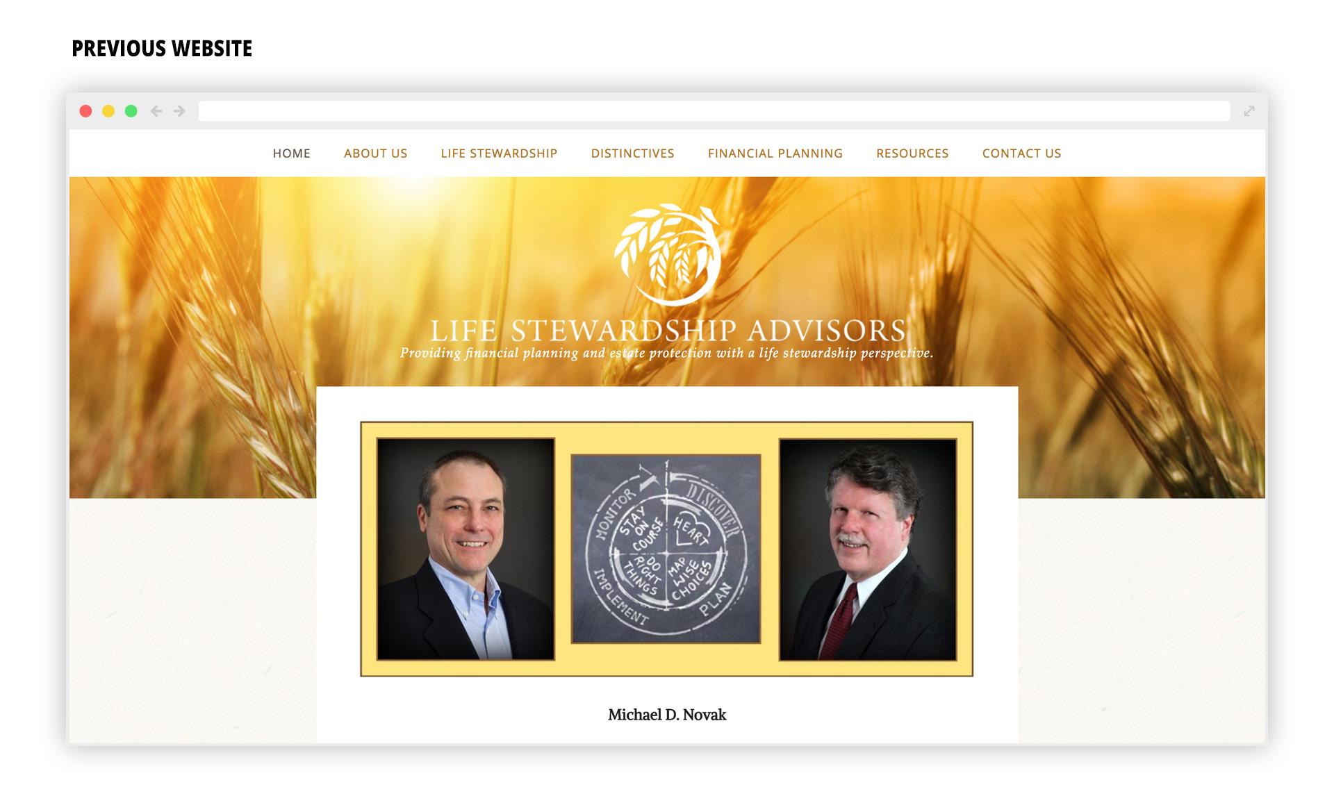 LSA - Previous Website