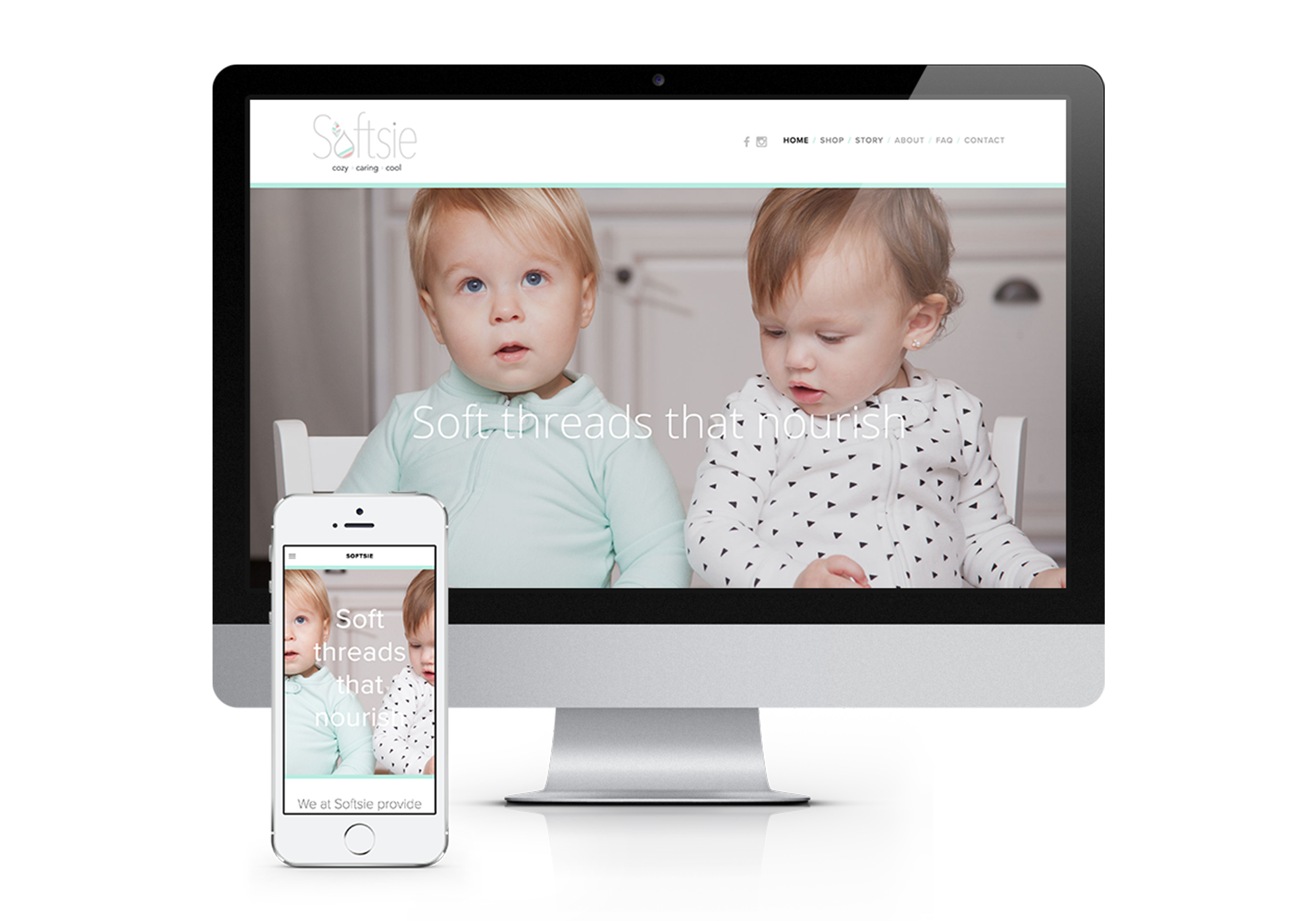 Softsie - Responsive Website