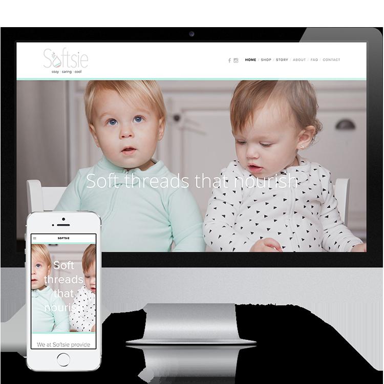 Softsie - Branding and Website Creation