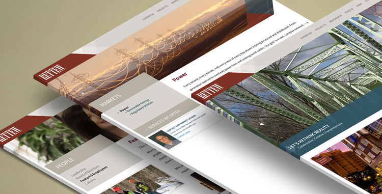 RETTEW - Website Redesign
